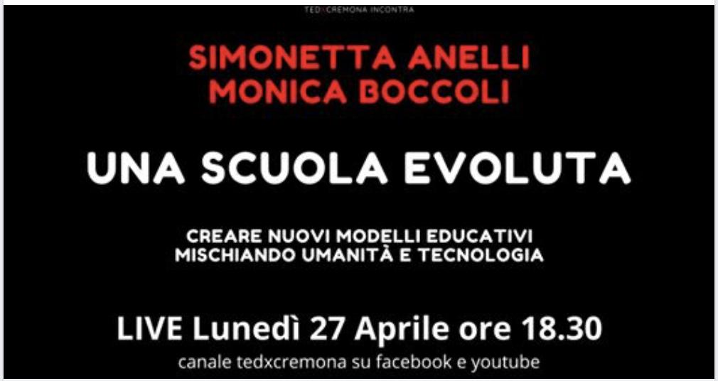 TEDx Incontra: UNA SCUOLA EVOLUTA